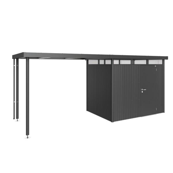 BIOHORT Seitendach für HighLine H2 dunkelgrau-metallic