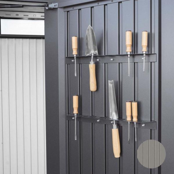 BIOHORT Werkzeughalter für HighBoard quarzgrau-metallic-Serie - 9003414470811 | by gartenmoebel-fockenberg.de