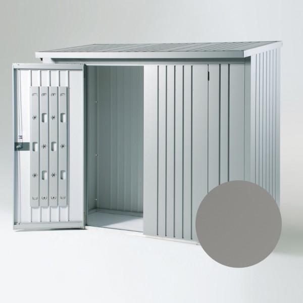 BIOHORT Rückwand für WoodStock 230 quarzgraugrau-metallic, 217,5 x 196,5 cm - 9003414380226 | by gartenmoebel-fockenberg.de