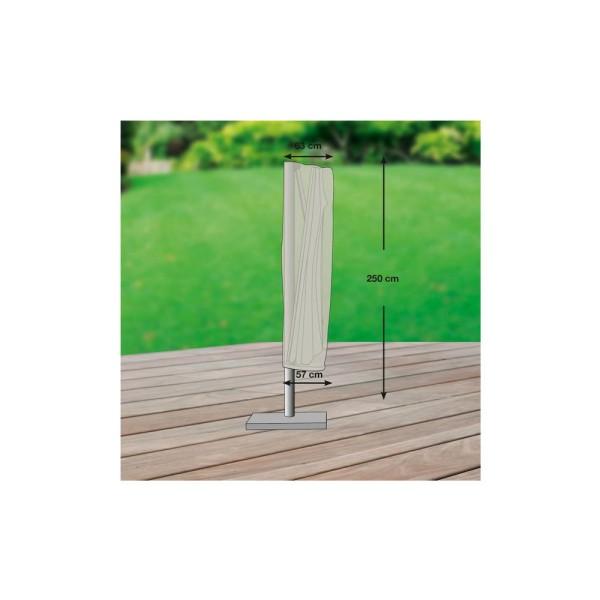 GWM Schutzhülle für Ampelschirm (gerade Form) 350-450cm - 4260270623866 | by gartenteiche-fockenberg.de