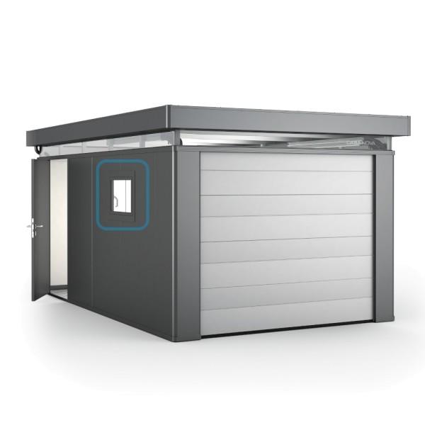 BIOHORT Aluminium-Dreh-Kippfenster für CasaNova (Türanschlag rechts) quarzgrau-metallic - 9003414530317 | by gartenmoebel-fockenberg.de