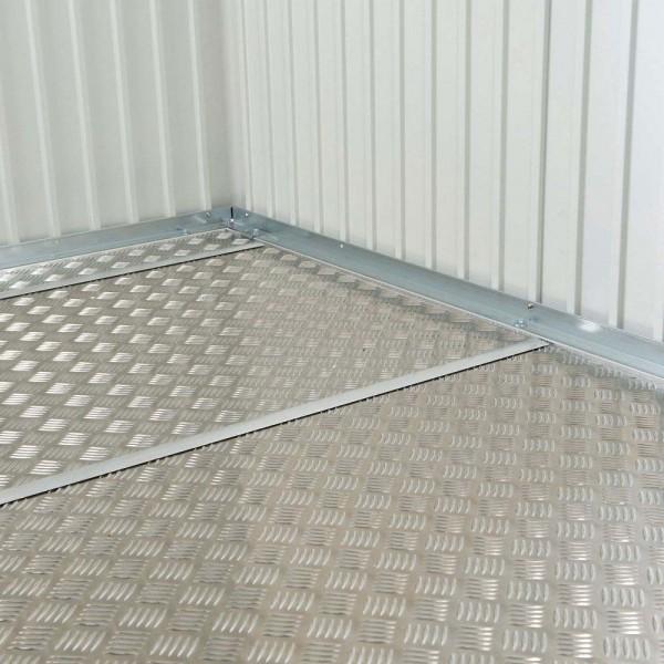 BIOHORT Alu-Bodenplatte für Geräteschrank 90-Serie, 79,5 x 69,5 cm - 9003414480117 | by gartenmoebel-fockenberg.de