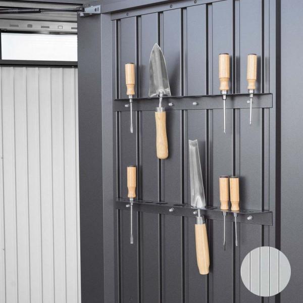BIOHORT Werkzeughalter für HighBoard silber-metallic-Serie - 9003414470316 | by gartenmoebel-fockenberg.de