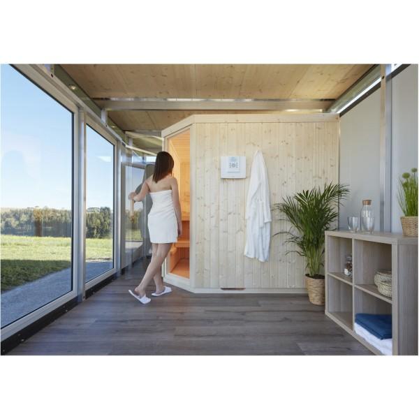 BIOHORT Sauna-Modul für CasaNova (Türanschlag rechts) 3x3 - 3x6 u. 4x4 - 4x6 - 9003414502505 | by gartenmoebel-fockenberg.de