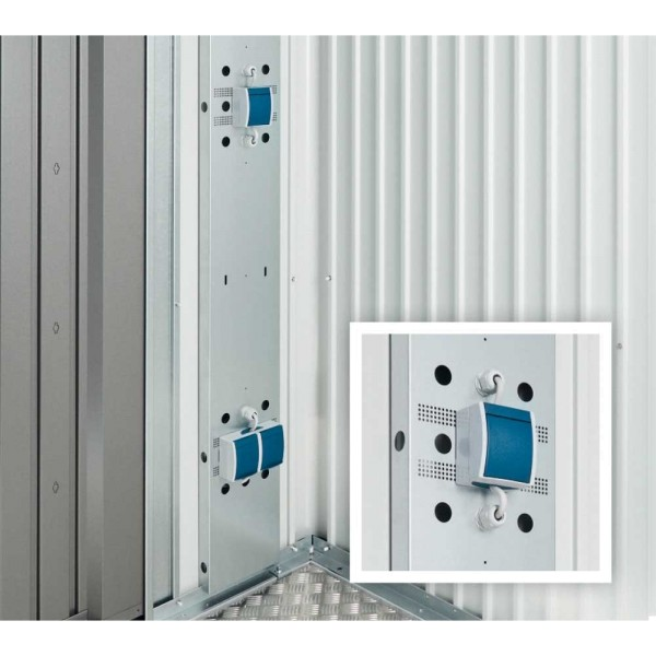 BIOHORT Elektro-Montagepaneel für MiniGarage - 9003414460331 | by gartenmoebel-fockenberg.de