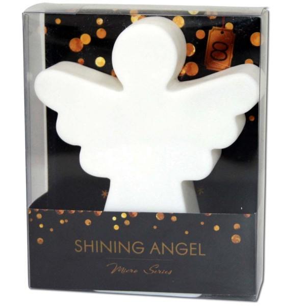 8 SEASONS Shining Angel Micro 12 cm weiß - 4033802324261 | © by gartenmoebel-fockenberg.de