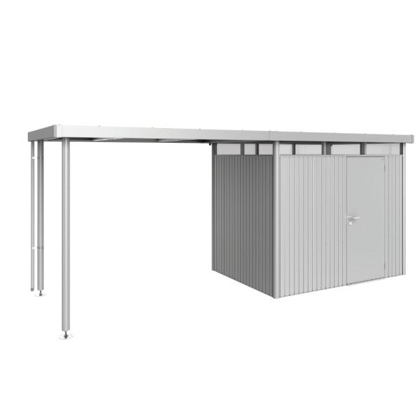 BIOHORT Seitendach für HighLine H2 silber-metallic