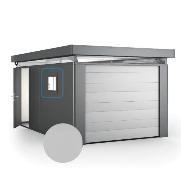 BIOHORT Aluminium-Dreh-Kippfenster für CasaNova (Türanschlag links) silber-metallic - 9003414510357 | by gartenmoebel-fockenberg.de