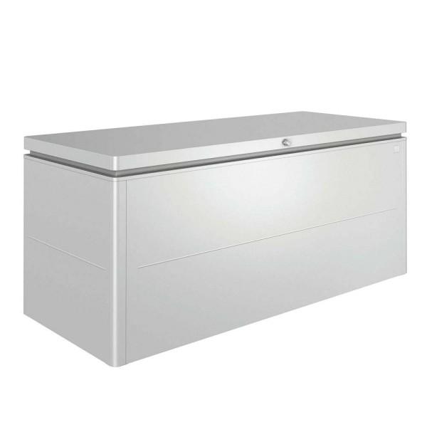 BIOHORT LoungeBox 200 silber-metallic - 9003414640757 | by gartenmoebel-fockenberg.de