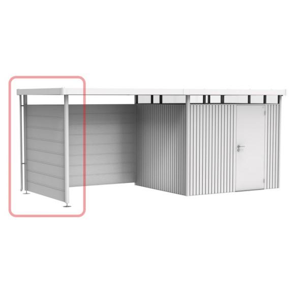 BIOHORT Seitenwand für Seitendach für HighLine H4 silber-metallic