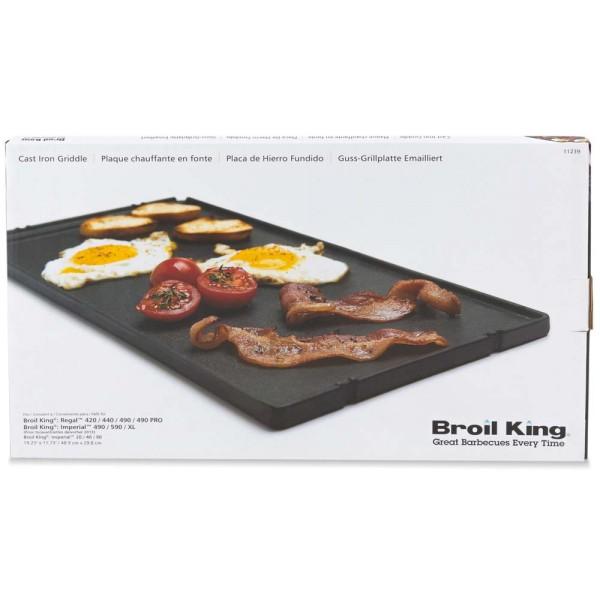 BROIL KING 1/3-Gussplatte geeignet für die Imperial-/Regal-Serie - 626821112397 | gartenmoebel-fockenberg.de