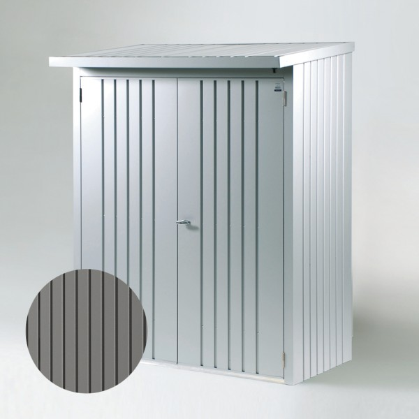 BIOHORT Türpaket für WoodStock 150 quarzgrau-metallic, 138 x 172,5 cm - 9003414380011 | by gartenmoebel-fockenberg.de