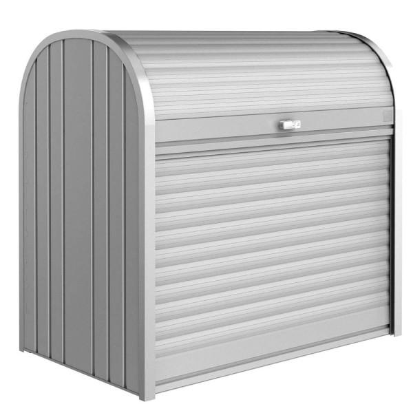 BIOHORT StoreMax 120 silber-metallic - 9003414720602 | by gartenmoebel-fockenberg.de