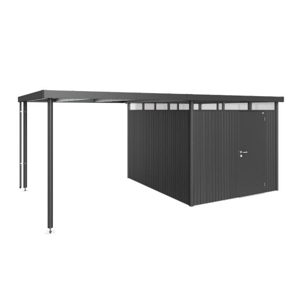BIOHORT Seitendach für HighLine H5 dunkelgrau-metallic