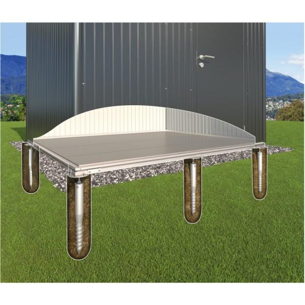 BIOHORT SmartBasePlus Erdschrauben-Fundament für HighLine H1/HS und Panorama P1