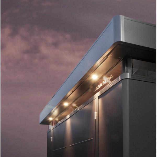 BIOHORT Vorbereitung für Außenbeleuchtung für CasaNova 4m-Seite - 9003414500440 | by gartenmoebel-fockenberg.de