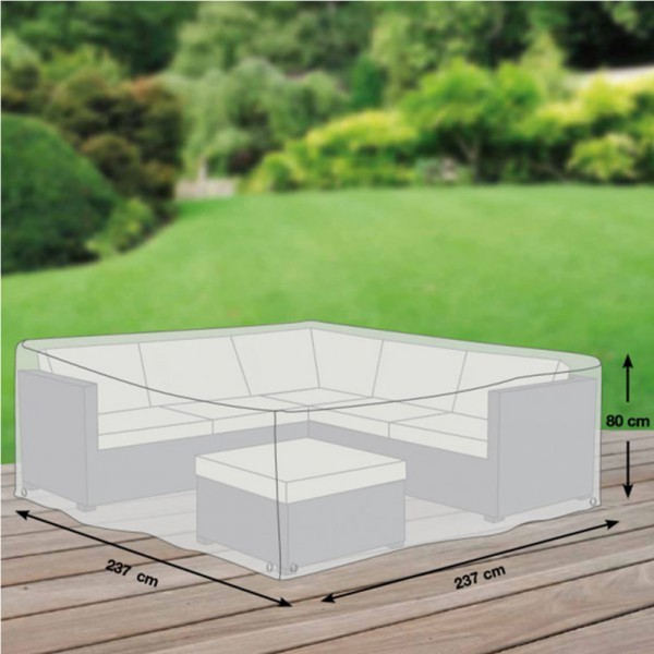 GWM Schutzhülle für Loungegruppe M 237x237x70cm - 4260270623446 | by gartenteiche-fockenberg.de