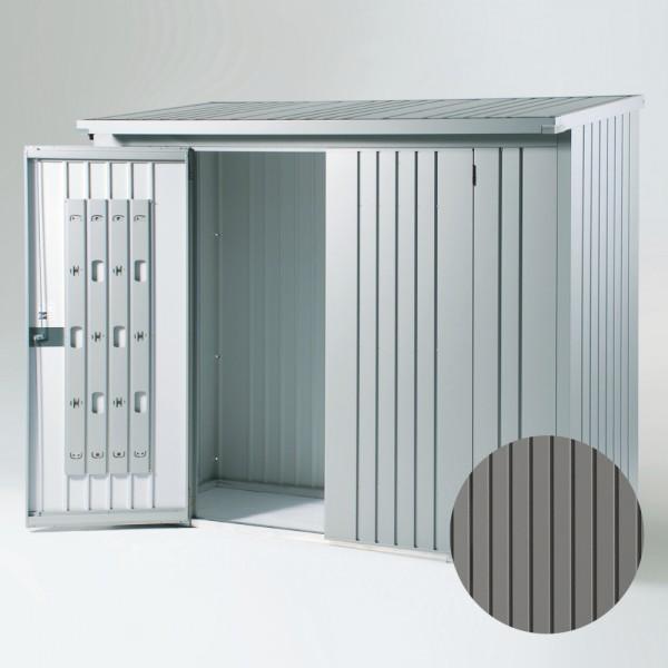 BIOHORT Türpaket für WoodStock 230 quarzgrau-metallic, 138 x 172,5 cm - 9003414380028 | by gartenmoebel-fockenberg.de