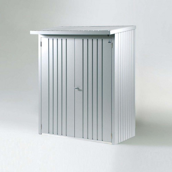 BIOHORT Türpaket für WoodStock 150 silber-metallic, 138 x 172,5 cm - 9003414350014 | by gartenmoebel-fockenberg.de