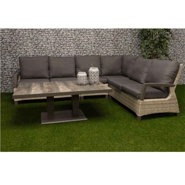 STRANDFLAIR® Lounge-Set Almeria Polyrattan | by gartenmoebel-fockenberg.de