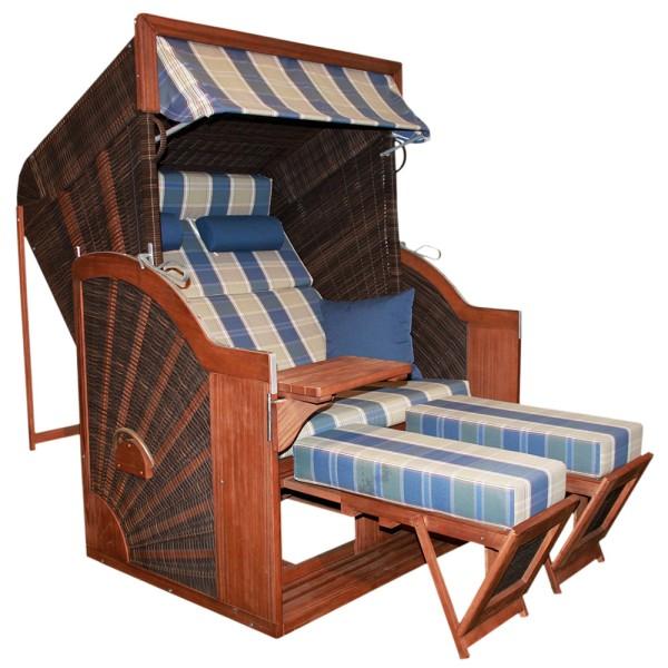 DEVRIES Strandkorb Pure Comfort plus XL HL, Design 428| © by gartenteiche-fockenberg
