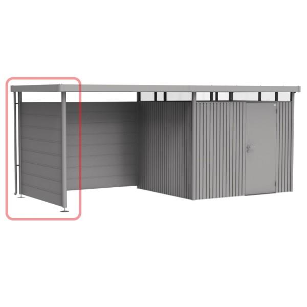 BIOHORT Seitenwand für Seitendach für HighLine H3 quarzgrau-metallic