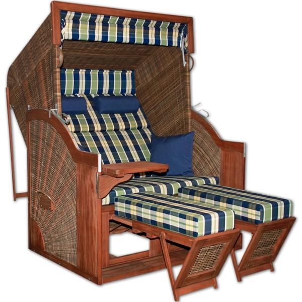 DEVRIES Strandkorb Pure Comfort plus XL HL, Design 431 | © by gartenteiche-fockenberg