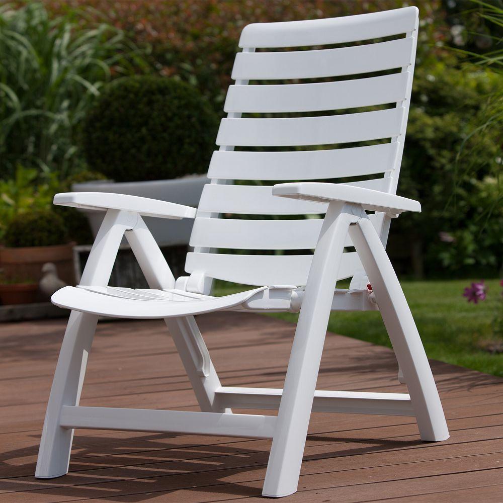 Multipos Sessel Rimini Weißweiß Kunststoff Von Kettler Jetzt