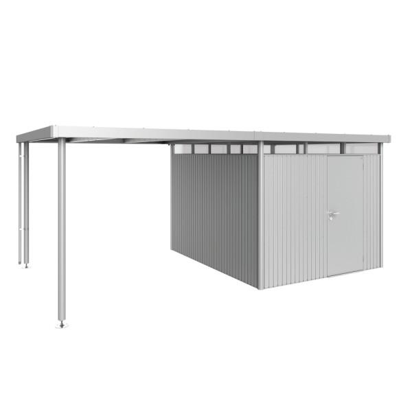 BIOHORT Seitendach für HighLine H5 silber-metallic