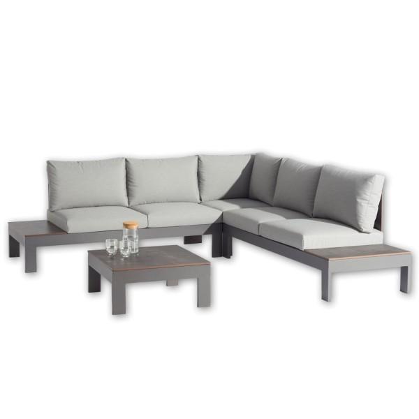 STRANDFLAIR® Lounge-Set Cala Ratjada Aluminium | by gartenmoebel-fockenberg.de