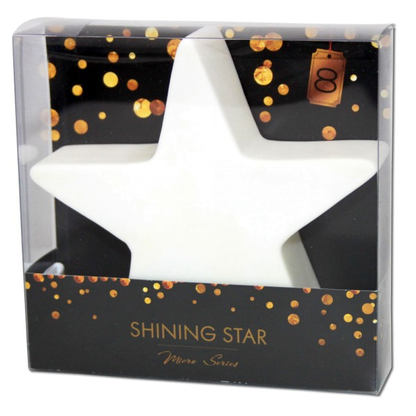 8 SEASONS Shining Star S Micro 12 cm weiß - 4033802324278 | © by gartenmoebel-fockenberg.de