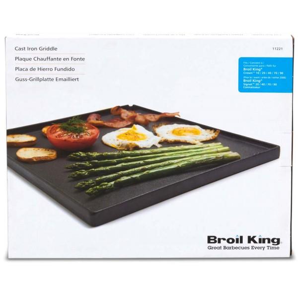 BROIL KING 1/2-Gussplatte geeignet für die Signet-Serie - 0626821112212 | gartenmoebel-fockenberg.de