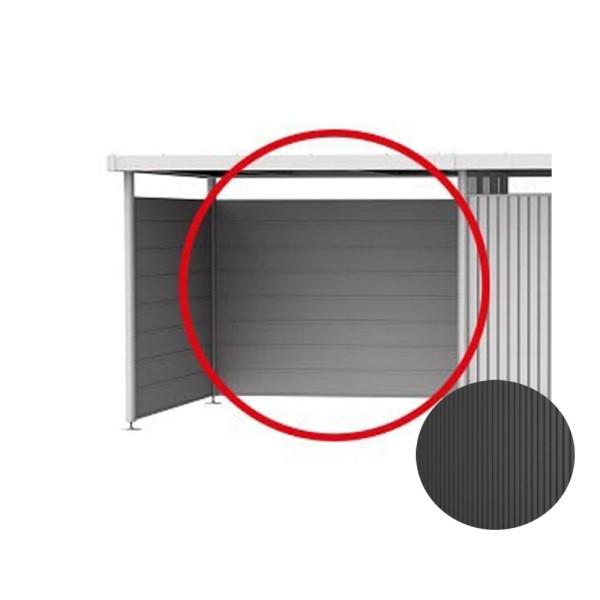 BIOHORT Gerätehaus Neo 1A 180x180 mit Einzeltür dunkelgrau-metallic