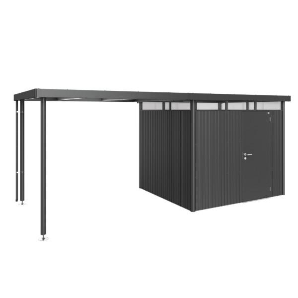 BIOHORT Seitendach für HighLine H3 dunkelgrau-metallic