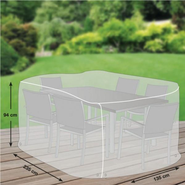 GWM Schutzhülle für Sitzgruppe L 235x135x94cm - 4260270623163   by gartenteiche-fockenberg.de