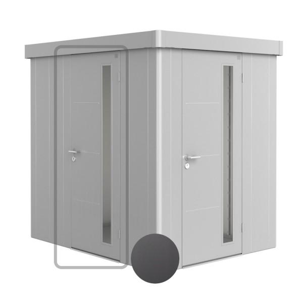 BIOHORT Zusatztür für Neo dunkelgrau-metallic