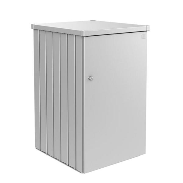 BIOHORT Mülltonnen-Box Alex silber-metallic Var. 1 - 9003414530638 | by gartenmoebel-fockenberg.de