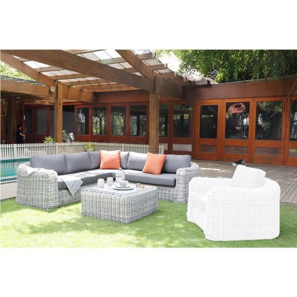 STRANDFLAIR® Lounge-Set Barbuda Polyrattan