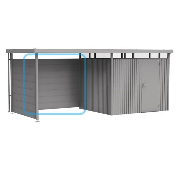 BIOHORT Rückwand für Seitendach für HighLine H2-H5 quarzgrau-metallic - 9003414880986 | by gartenmoebel-fockenberg.de
