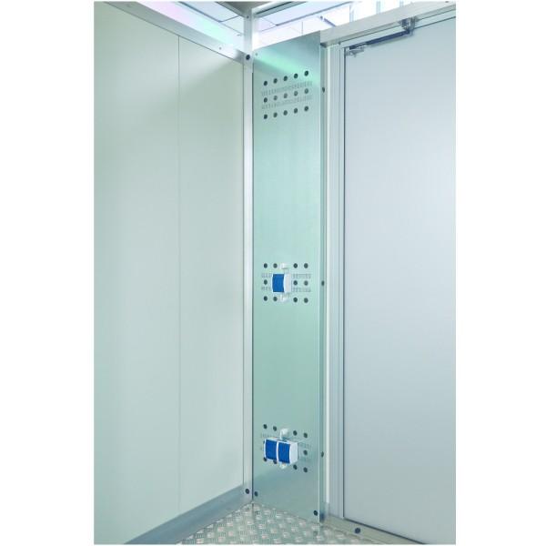BIOHORT Elektro-Montagepaneel unbeschichtet für CasaNova - 9003414500839 | by gartenmoebel-fockenberg.de