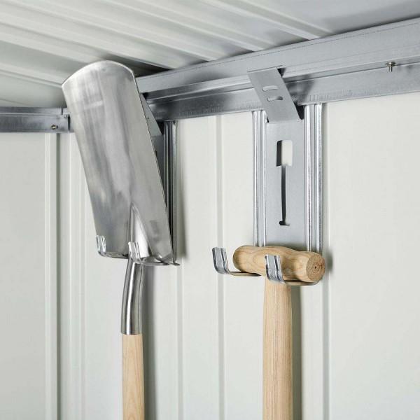 BIOHORT Gerätehalter 4 Stk. für Geräteschrank-Serie - 9003414470200 | by gartenmoebel-fockenberg.de