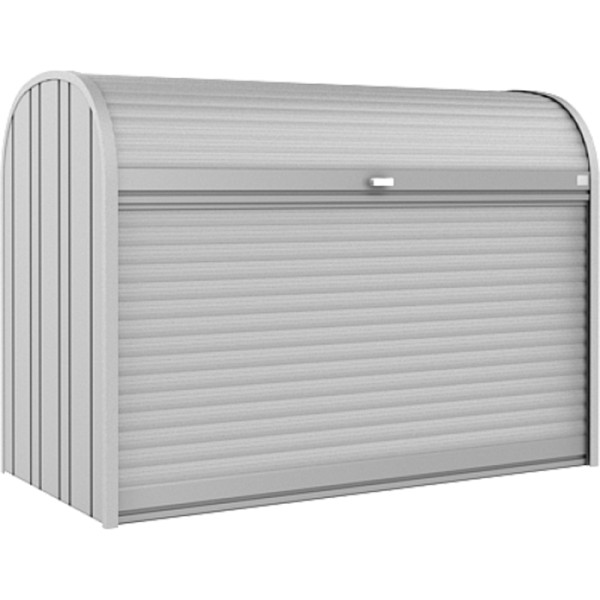 BIOHORT StoreMax 190 silber-metallic - 9003414720206 | by gartenteiche-fockenberg.de