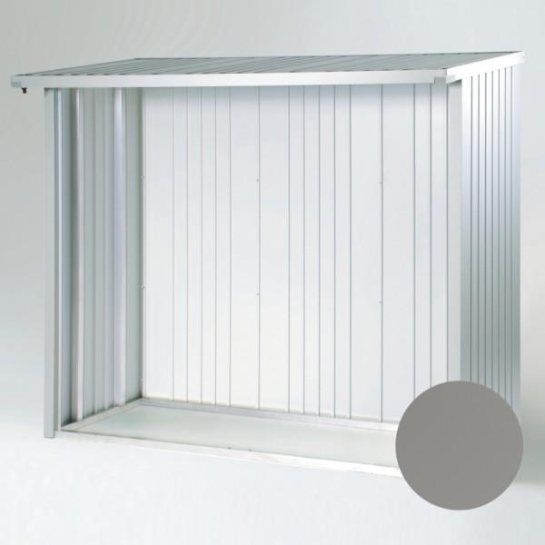 BIOHORT Rückwand für WoodStock 150 quarzgrau-metallic, 217,5 x 196,5 cm - 9003414380127 | by gartenmoebel-fockenberg.de