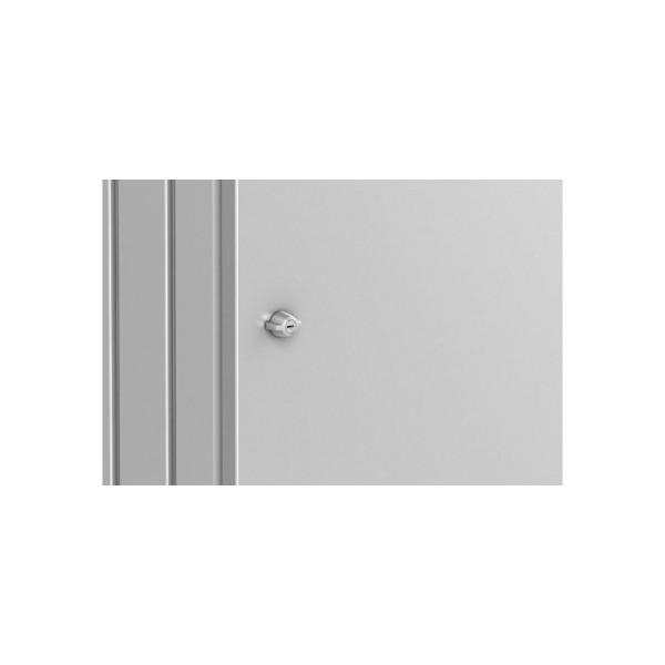 BIOHORT Gleichschließendes Zylinderschloss für 2 Mülltonnen-Boxen Alex - 9003414500402 | by gartenmoebel-fockenberg.de