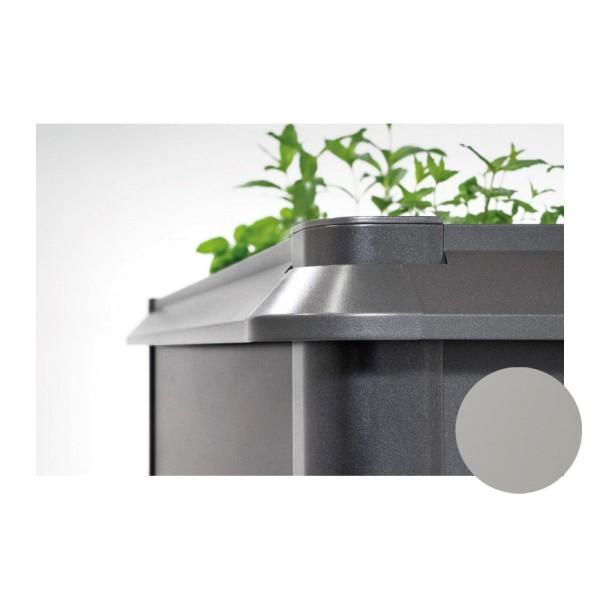 BIOHORT Schneckenschutz für HochBeet 2x0,5 quarzgrau-metallic