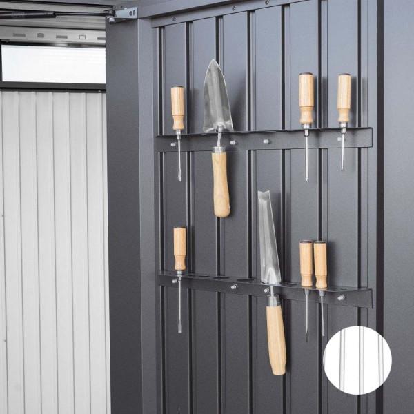 BIOHORT Werkzeughalter für HighBoard weiß-Serie - 9003414470613 | by gartenmoebel-fockenberg.de